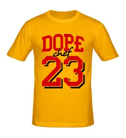 Мужская футболка Dope chef 23