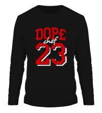 Мужской лонгслив Dope chef 23