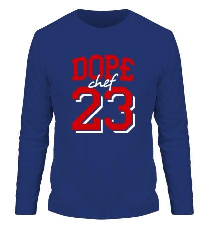 Мужской лонгслив «Dope chef 23»