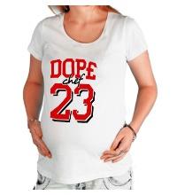 Футболка для беременной Dope chef 23