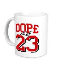 Керамическая кружка Dope chef 23