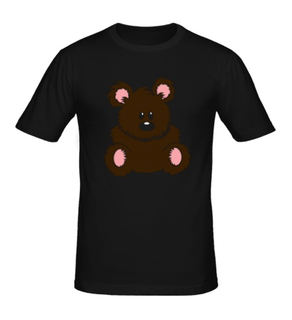 Мужская футболка Плюшевый мишка
