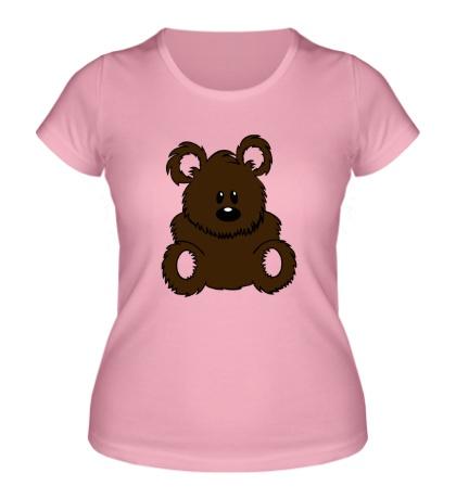 Женская футболка Плюшевый мишка
