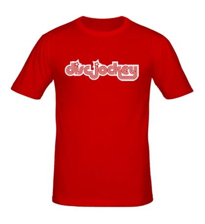 Мужская футболка Discjockey Dj