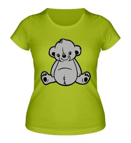 Женская футболка Милый мишка
