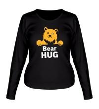 Женский лонгслив Bear Hug
