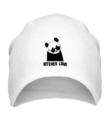 Шапка Panda bitches love