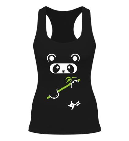 Женская борцовка Панда ниндзя