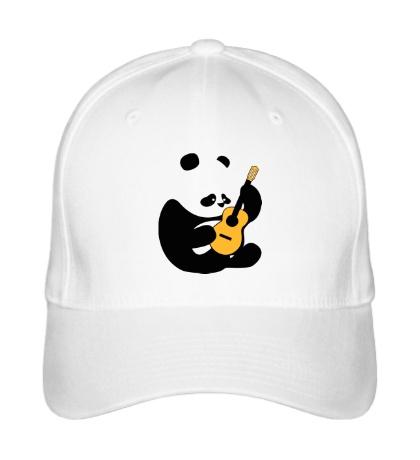Бейсболка Панда гитарист