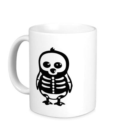 Керамическая кружка Рентген пингвина