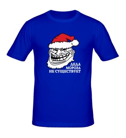 Мужская футболка Тролль Дед Мороз
