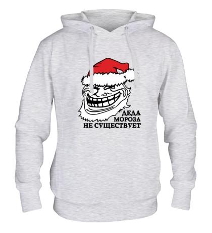 Толстовка с капюшоном Тролль Дед Мороз