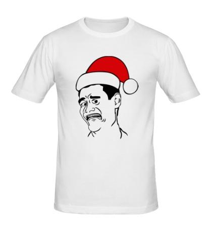 Мужская футболка Яо минг в шапочке