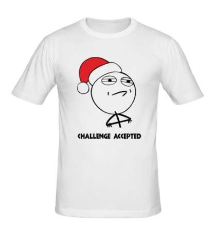 Мужская футболка Challenge accepted