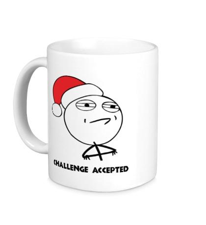Керамическая кружка Challenge accepted