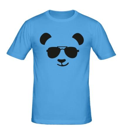 Мужская футболка Крутая панда