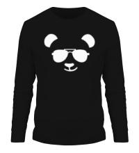 Мужской лонгслив Крутая панда