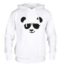 Толстовка с капюшоном Крутая панда