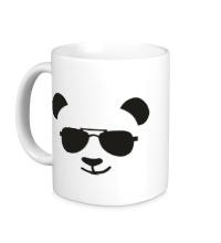 Керамическая кружка Крутая панда