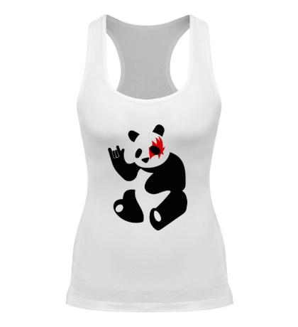 Женская борцовка Панда рокер