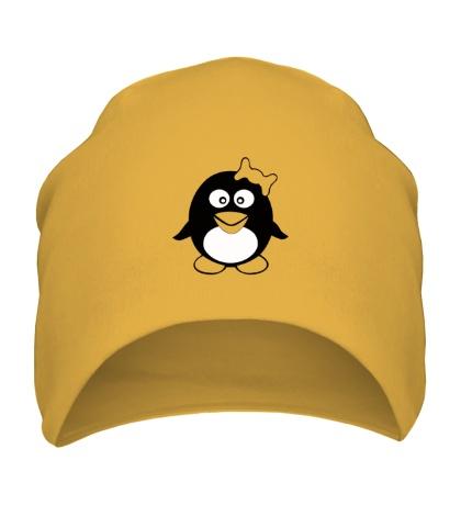 Шапка Пингвин девочка