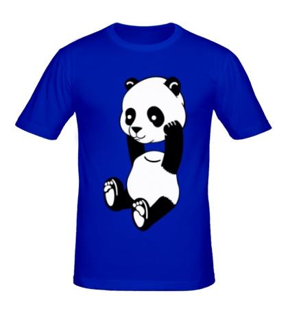 Мужская футболка Панда без головы