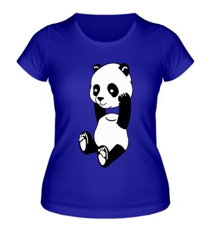 Женская футболка Панда без головы