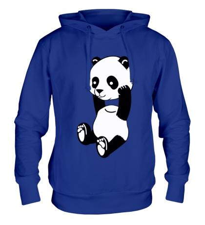 Толстовка с капюшоном Панда без головы