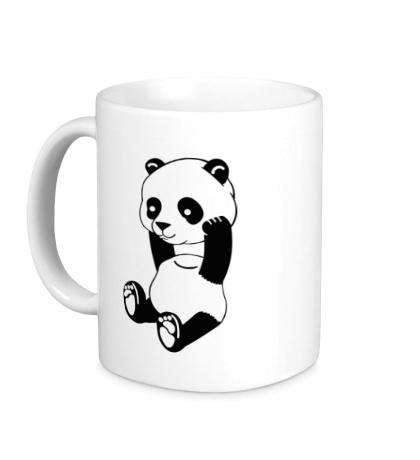 Керамическая кружка Панда без головы