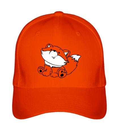 Бейсболка Рыжий лисенок
