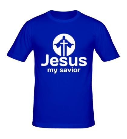 Мужская футболка Jesus my savior