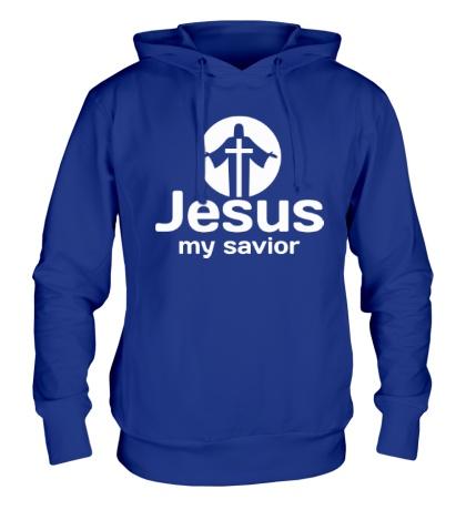 Толстовка с капюшоном Jesus my savior
