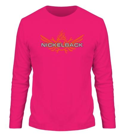 Мужской лонгслив Nickelback Angel