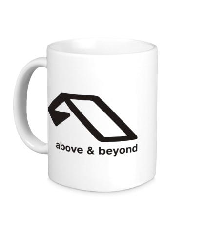 Керамическая кружка Above & Beyond Logo