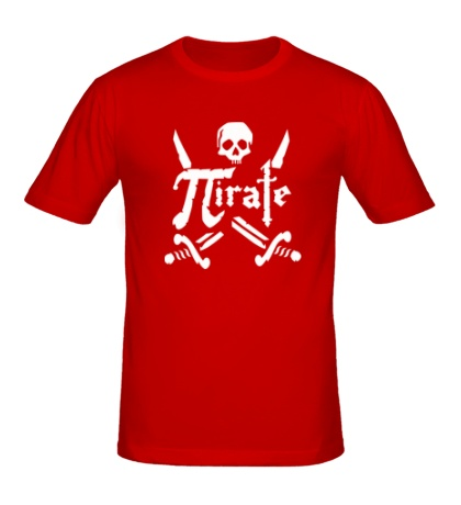 Мужская футболка Pirate Symbol