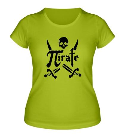 Женская футболка Pirate Symbol