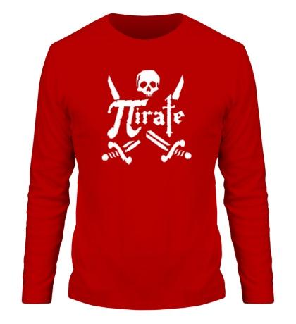 Мужской лонгслив Pirate Symbol