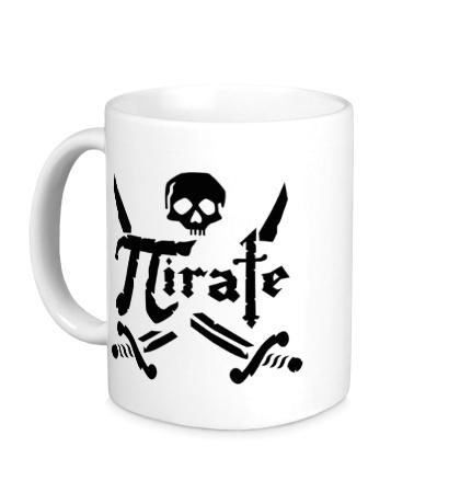 Керамическая кружка Pirate Symbol