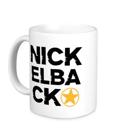 Керамическая кружка Nickelback Star