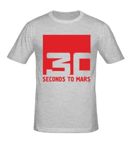 Мужская футболка 30 Seconds To Mars Logo