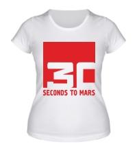 Женская футболка 30 Seconds To Mars Logo
