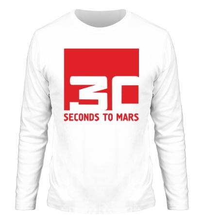 Мужской лонгслив 30 Seconds To Mars Logo