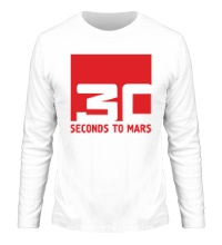 Мужской лонгслив 30 Seconds To Mars Logo
