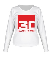 Женский лонгслив 30 Seconds To Mars Logo