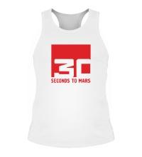 Мужская борцовка 30 Seconds To Mars Logo