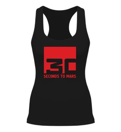 Женская борцовка 30 Seconds To Mars Logo