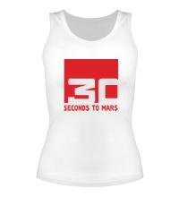 Женская майка 30 Seconds To Mars Logo