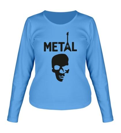 Женский лонгслив Hardcore Metal