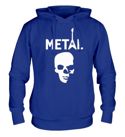 Толстовка с капюшоном Hardcore Metal