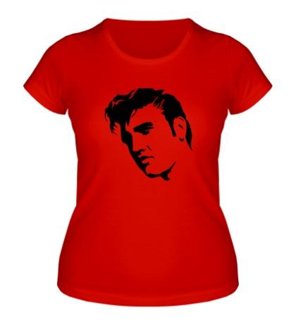 Женская футболка Элвис Пресли